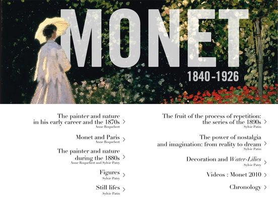 The Monet album : the e-album of the exhibition iPad Screenshot 1