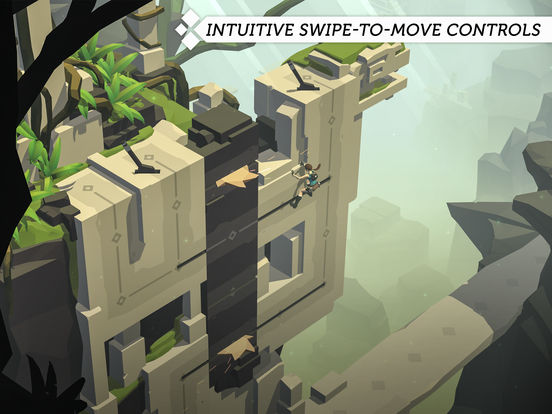 App Store Screenshot of Lara Croft GO