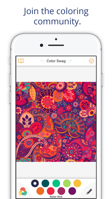 Coloring Pages App For Ipad : Color swag coloring book for adults free pages