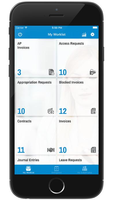 mWorklist – SAP Mobile Universal Approvals App screenshot 2
