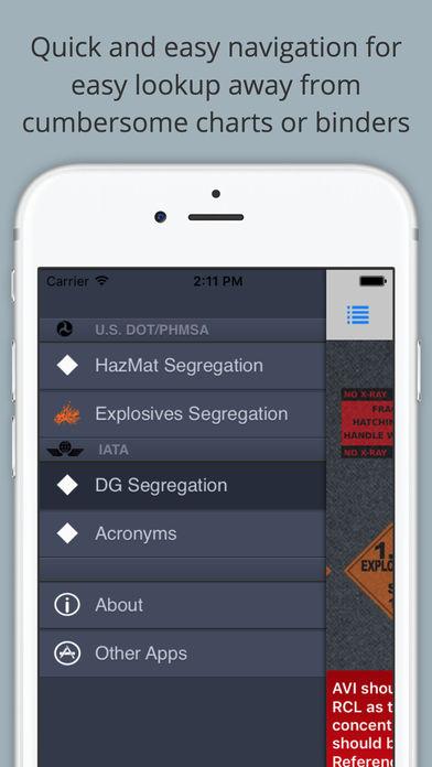 Hazmat Load and Segregation Guide iPhone Screenshot 5