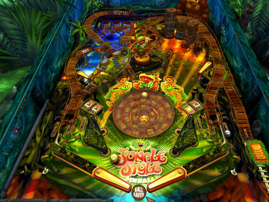 Jungle Style Pinball iPad Screenshot 2