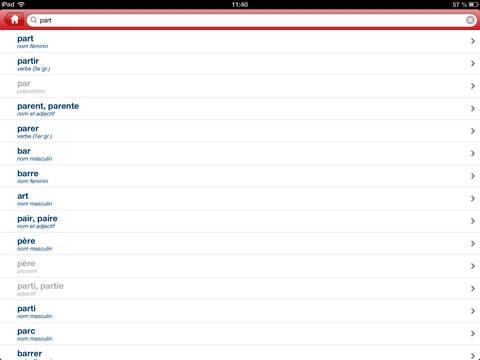 Bescherelle, Le dictionnaire des synonymes iPad Screenshot 5