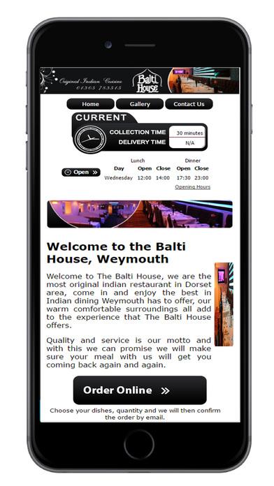 Balti House Weymouth screenshot 2