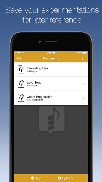 Suggester - Chord Progression Tool and Musical Scale Reference iPhone Screenshot 5