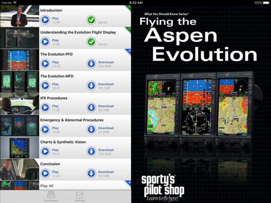 Flying the Aspen Evolution iPad Screenshot 1