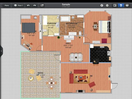 Interior Design for iPad Screenshot