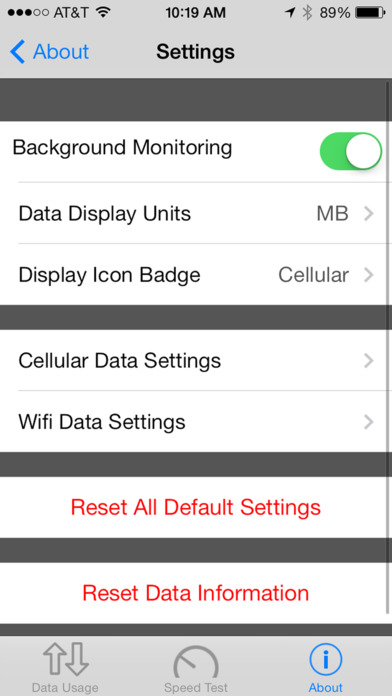 Data Manager Pro - Data Usage Screenshots