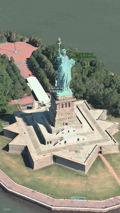 FlyMaps - 3D World Maps Apps free for iPhone/iPad screenshot