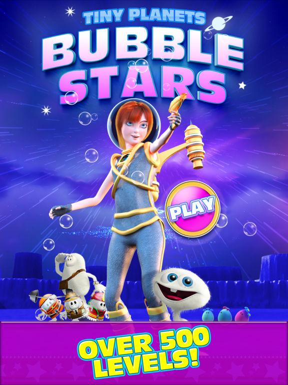 Tiny Planets Bubble Stars Screenshots
