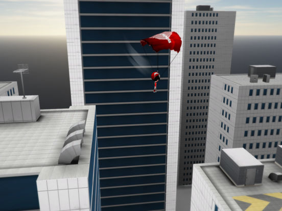 Stickman Base Jumper 2 Screenshots
