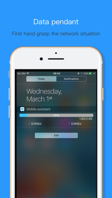 Assistant - Real-time control of phone status Apps free for iPhone/iPad screenshot