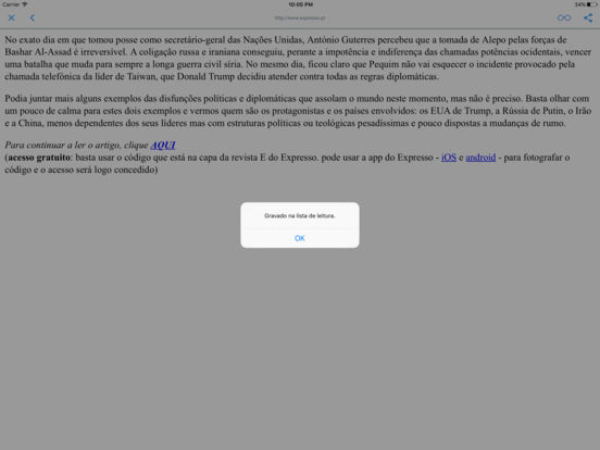 JORNAIS E REVISTAS iPad Screenshot 2