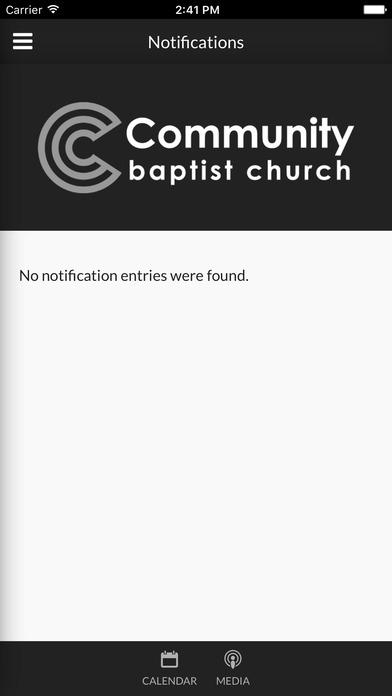 Community Baptist Church - Ardmore, AL screenshot 2