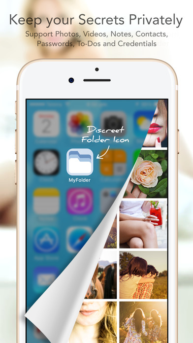 Secret folder: app lock to keep photo & video safe app image