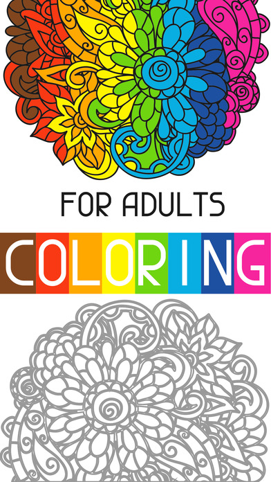 Adult Color Anti Stress Therapy Coloring Book App Download