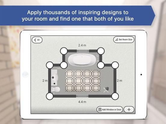 App shopper 3d bathroom room plan interior design for 3d bathroom design app