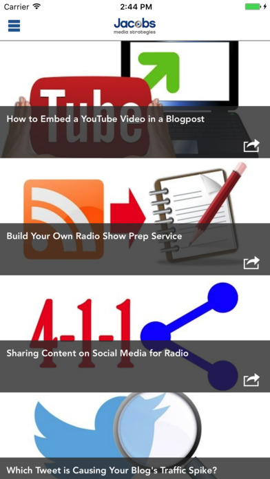JacoBlog - Jacobs Media iPhone Screenshot 2