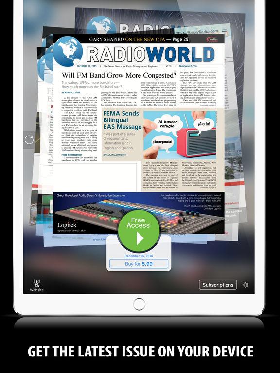 Radio World+ Скриншоты2