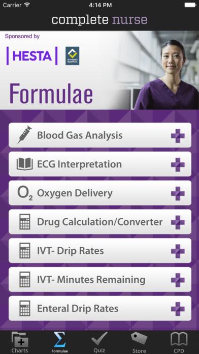 Complete Nurse iPhone Screenshot 3
