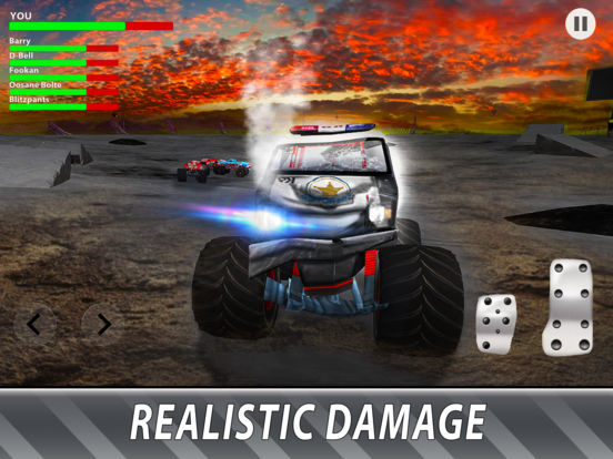 Скачать игру Monster Truck Derby: Bigfoot Arena Full