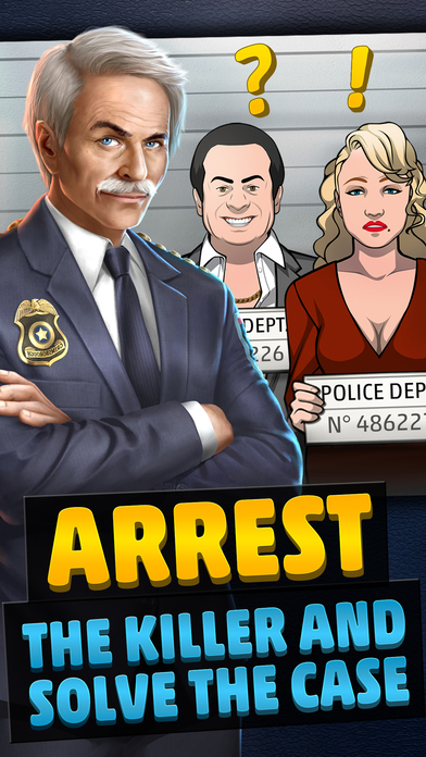 Screenshots of Criminal Case for iPhone