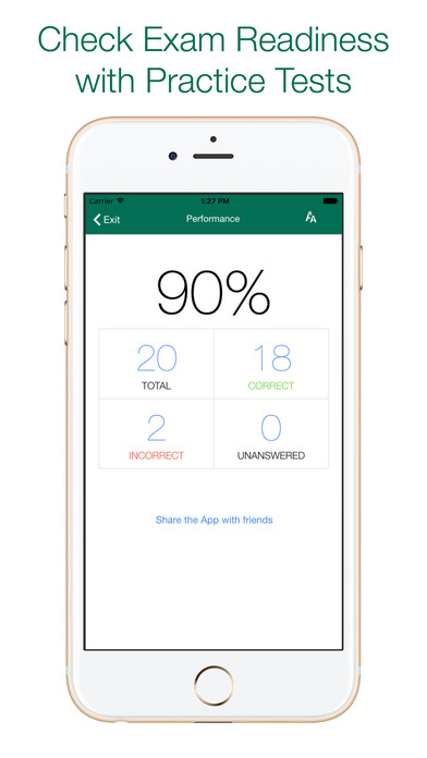 Screenshot for CISSP Practice Tests - (ISC)² OFFICIAL APP in United States App Store