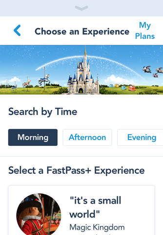 My Disney Experience screenshot 3