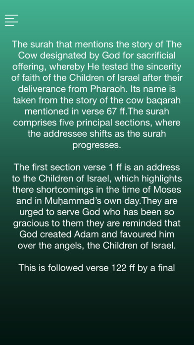 Surah AL-BAQARA With English Translation screenshot 4