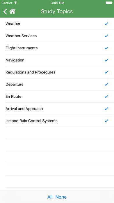 FAA Test Prep - Instrument Pilot (IR) iPhone Screenshot 4