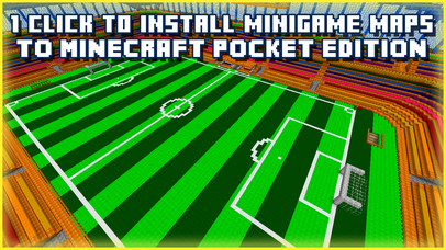 GAMES MAPS FOR MINECRAFT - PE ( POCKET EDITION ) Apps free for iPhone/iPad screenshot