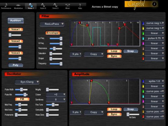 Crystal Synth XT iPad Screenshot 2