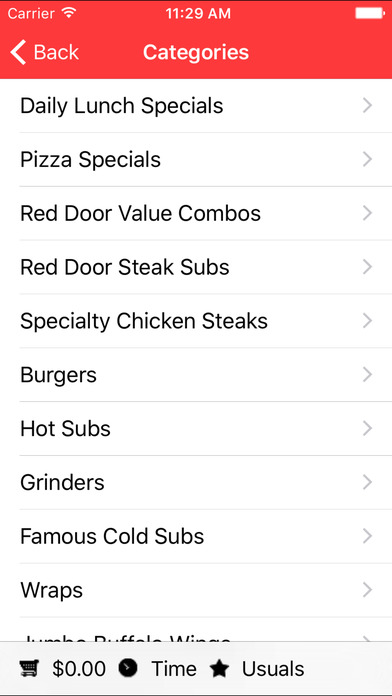 Red Door Sub Shop screenshot 2
