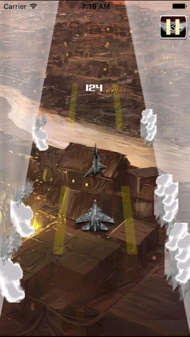 Aircraft Of Maximum Height Pro : Flames Sky screenshot 2