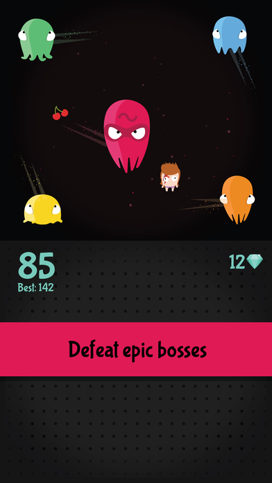 Planktons - Fun Endless Survival Game Screenshot