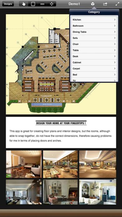 Cad Design 3d For Interior Design Floor Plan On The App Store