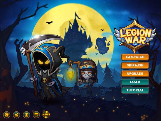 Легион войны - Пошаговая стратегия тактика на iPad
