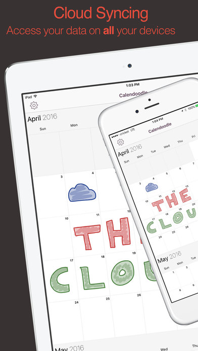 Sketch Calendar - Doodle and Paint Your Day Screenshots