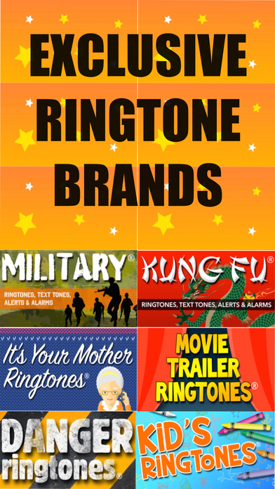 Top Comedy Ringtones, Vol. 2 (Free Ringtone Sampler) iPhone Screenshot 2