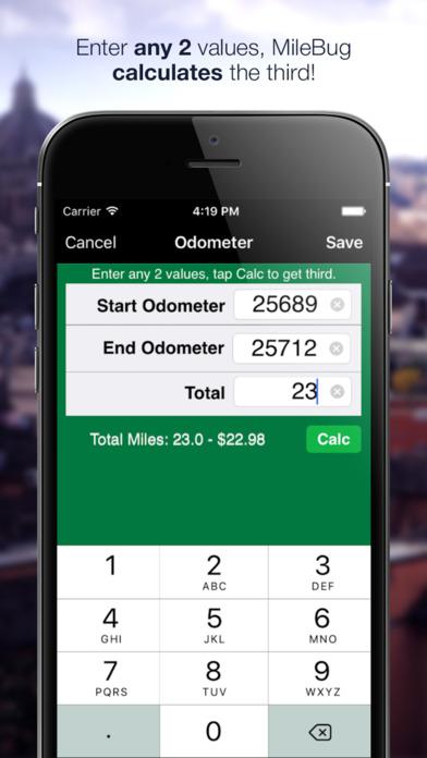 MileBug - Mileage Log & Expense Tracker (LITE) iPhone Screenshot 4