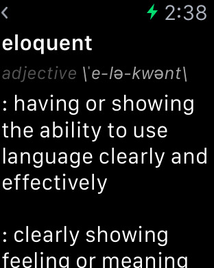 Merriam-Webster Dictionary iPhone Screenshot 7