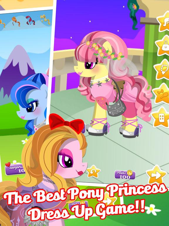 Fun Pony Baby Pet Dress Up Games For Girls & Kidsscreeshot 2