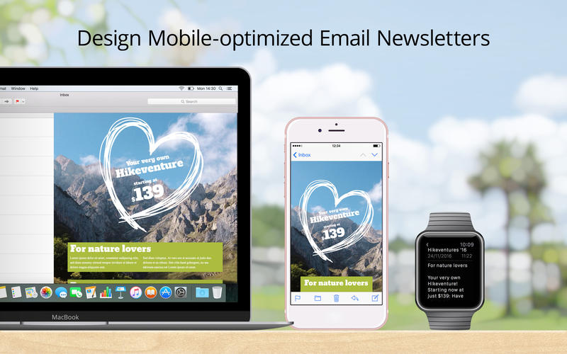 Mail Designer Pro 3 Screenshots