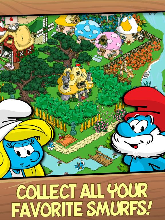 Smurfs' Village Скриншоты9