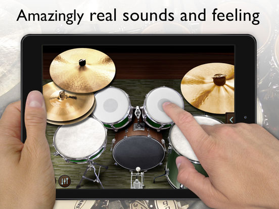 Real Drums - learn to play drum by Gismart Screenshots