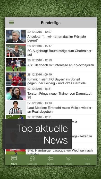 Pocket Liga 2010/11 iPhone Screenshot 1