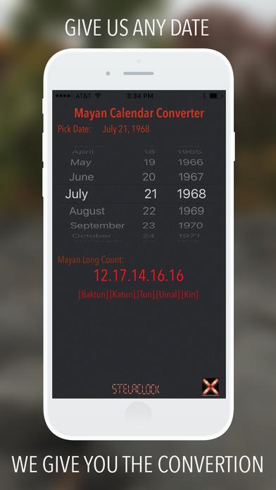StelaClock - Mayan calendar converter on the App Store