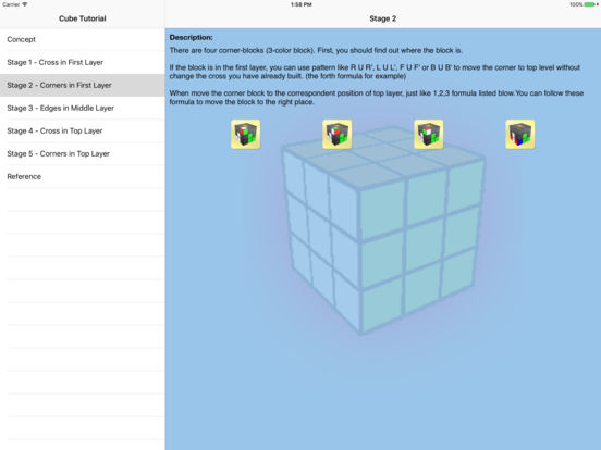 Cube Tutorial iPad Screenshot 3
