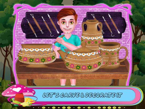 Create Pottery Factory Game screenshot 9