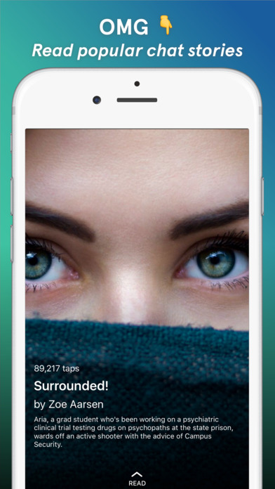 Tap - Chat Stories by Wattpad iPhone Screenshot 1